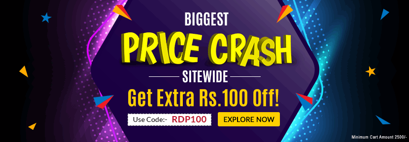 Price Crash Sitewide