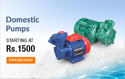 Domestic Water Motor Pumps