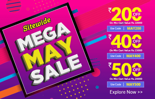 Mega May Sale