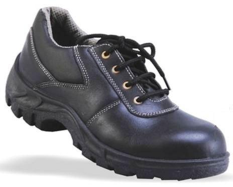 Mangla Target 6 No. Black Safety Shoes