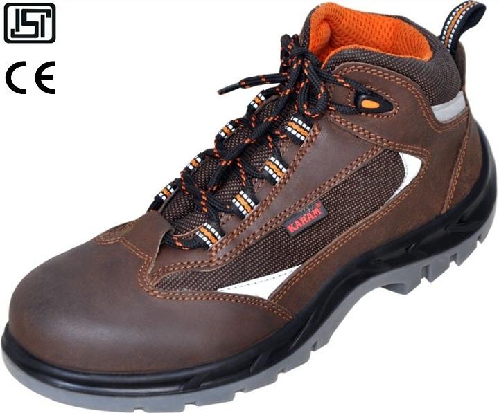 Karam FS 65 6 No. Brown Steel Toe