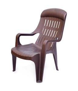 Nilkamal Weekender Plastic Chair Rust