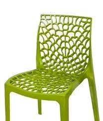 Supreme Premium Plastic Chair Mahedi Green Web